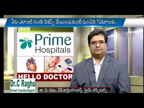 NTV Live Program On Bypass Surgery and Stent procedure by Dr.C.Raghu, Interventional Cardiologist