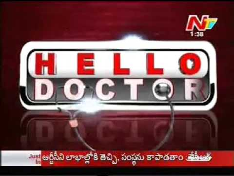 Live Program by Dr.C.Raghu, Interventional Cardiologist on NTV Live program 'Hello Doctor'