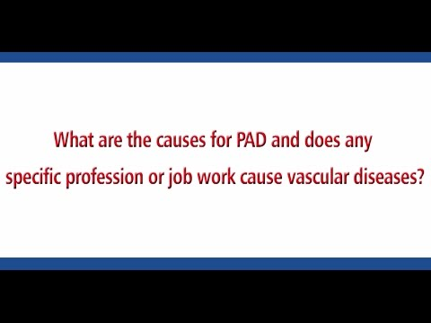 Does any specific profession or job cause vascular diseases