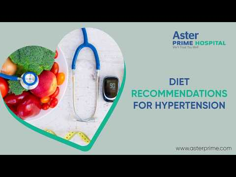 Diet recommendations for Hypertension | Dr. C. Raghu, Cardiologist, Aster Prime Hospital
