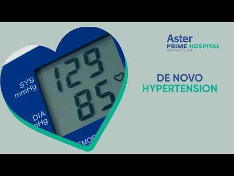 De Novo Hypertension | Dr. C. Raghu, Cardiologist, Aster Prime Hospital
