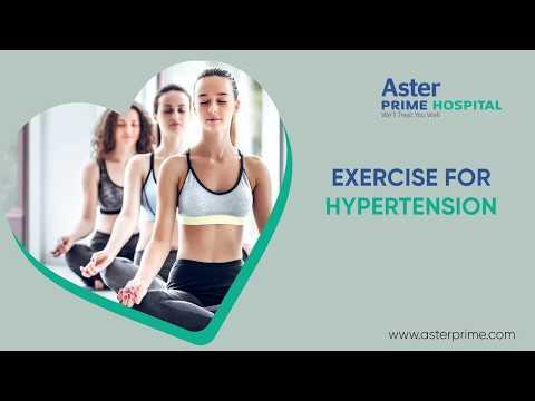 Exercise for Hypertension | Dr. C. Raghu, Cardiologist, Aster Prime Hospital